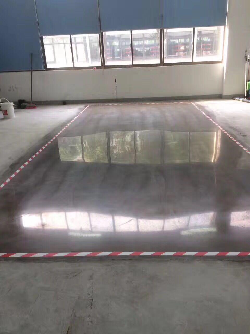 密封固化地坪